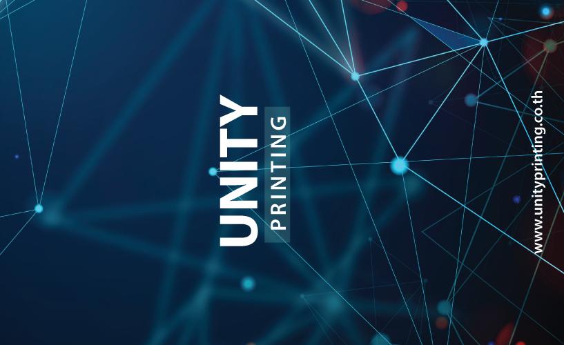 แบบ นามบัตร unityprinting AW-07