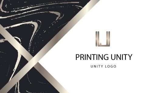 แบบ นามบัตร unityprinting AW-08