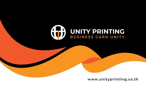 แบบ นามบัตร unityprinting AW-13