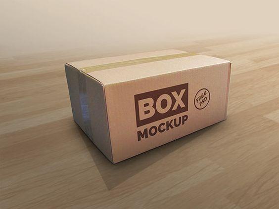 กล่อง Mockup
